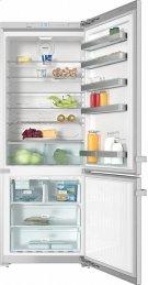 "KFN 15943 DE edt/cs Freestanding fridge-freezer 30"" (75 cm) wide for a lot of storage space. Product Image"