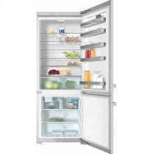 "KFN 15943 DE edt/cs Freestanding fridge-freezer 30"" (75 cm) wide for a lot of storage space."