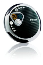 Philips Portable CD Player AX2481 Product Image