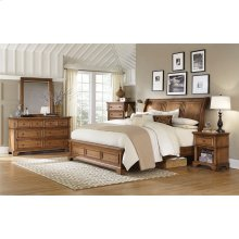 Queen Bed Low Profile FB