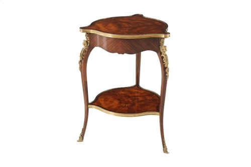 Louis Xv's Caryatids Side Table - High Gloss