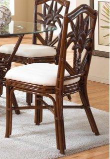 Havana Palm Indoor Rattan & Wicker Side Chair