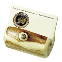 Business Card Holder - Natural Cedar