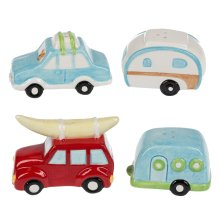 Retro Camper Salt & Peppers Shakers (6 set ppk.)