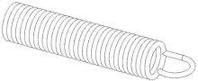 Ariens Zero Turn Mower Extension Spring .375 X .055 X 2.25