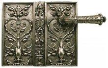 Double Door Rim Lock Italian Renaissance Style