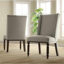 Belmeade - Hostess Chair - Old World Oak Finish