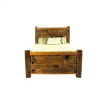 Western Traditions - Elite Bed - 25440 - Queen Bed (complete)