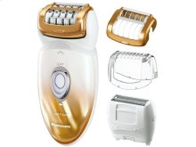 Wet/Dry Shaver and Epilator with Four Attachments and Travel Pouch ES-ED50-N