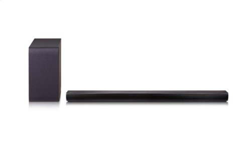 320W 2.1ch Sound Bar with Wireless Subwoofer and Bluetooth® Connectivity
