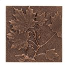 Maple Leaf Wall Decor - Antique Copper Product Image