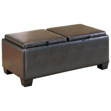 Storage Cocktail Ottoman