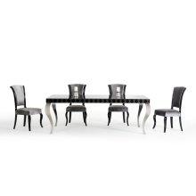 Versus Mia & Seema Modern Black & Grey Dining Set