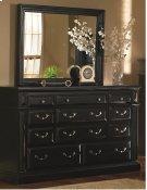 Drawer Dresser - Antique Black Finish Product Image