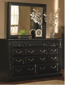 Drawer Dresser - Antique Black Finish