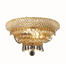 1803 Primo Collection Wall Sconce Gold Finish