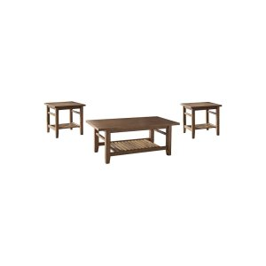 Ashley Furniture Occasional Table Set (3/cn)