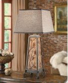 """Autumn's Light"" Table Lamp Product Image"