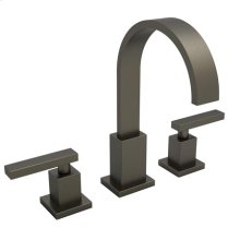 English Bronze Widespread Lavatory Faucet
