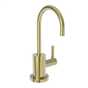 Uncoated Polished Brass - Living Cold Water Dispenser