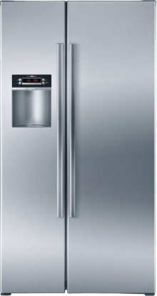 Serie  4 36'' Counter Depth Side-by-Side Refrigerator 300 Series - Stainless Steel B22CS30SNS