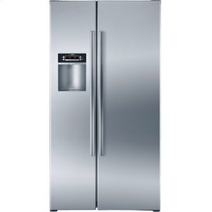 BOSCHSerie  4 36'' Counter Depth Side-by-Side Refrigerator 300 Series - Stainless Steel B22CS30SNS