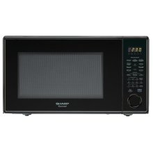 Sharp Carousel Countertop Microwave Oven 1.3 cu. ft. 1000W Black