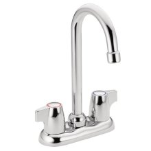 Chateau chrome two-handle bar faucet