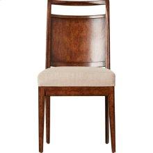 Mulholland Wood Back Chair - Pecan