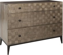 ED Ellen DeGeneres Crescenta Basketweave Hall Chest
