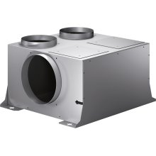 Remote fan unit 400 series AR 400 140 Metal housing Max. air output 1210 m /h Inside installation
