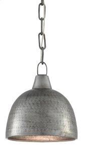 Earthshine Steel Small Pendant