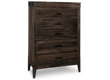 Chattanooga 5 Drawer Highboy Chest