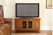 "Clairmont TV Cabinet, Cherry, 48"" x 18"" x 24"" Product Image"