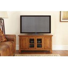 """Clairmont TV Cabinet, Black, 48"""" x 18"""" x 24"""""""