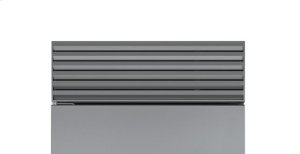"""Built-In 48"""" Stainless Steel Pro Louvered Grille - 84"""""""
