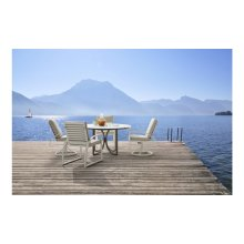 Cityscapes Outdoor Claidon Swivel Dining Chair