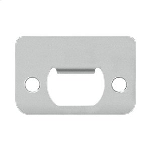 """Strike Plate, 2-1/4"""" x 1-1/2"""" - Polished Stainless"""