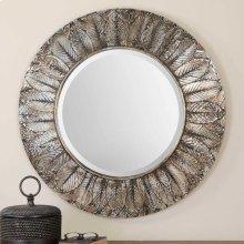 Foliage Round Mirror