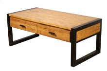 Rectangular Coffee Table with 2 Drawers