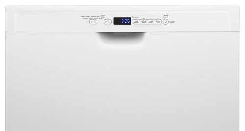 Stainless Steel Dishwasher with 1-Hour Wash Cycle