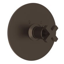 Lombardia Thermostatic Trim Plate Without Volume Control
