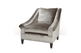 Marquette Loose Back Exposed Leg Chair - Loose Cushion Back, Seat & Legs