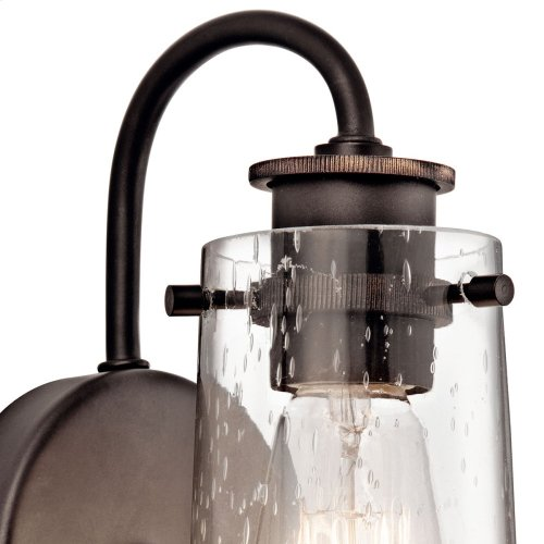 Braelyn Collection Braelyn 1 Light Wall Sconce in Chrome