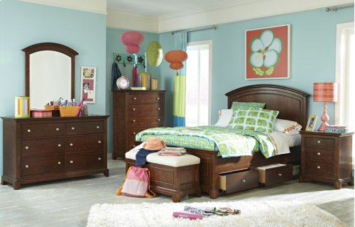 Impressions Panel Bed Full