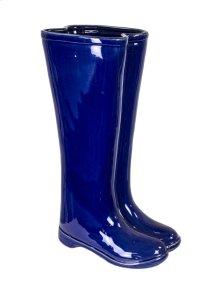 Blue Boots Umbrella Stand