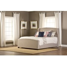 Barrington King Bedset With Fabric Rails