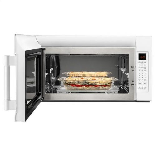Maytag® Over-The-Range Microwave With WideGlide Tray - 2.1 Cu. Ft. - White