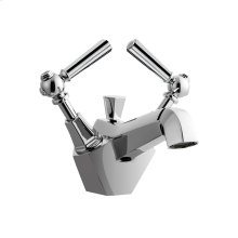 Waldorf Metal Single Lever Lavatory Faucet - Polished Chrome