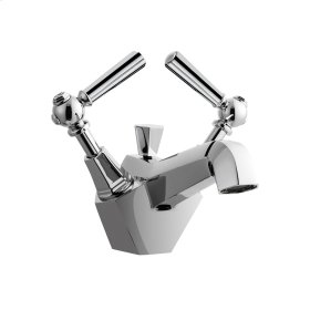Waldorf Metal Single Lever Lavatory Faucet - Polished Nickel